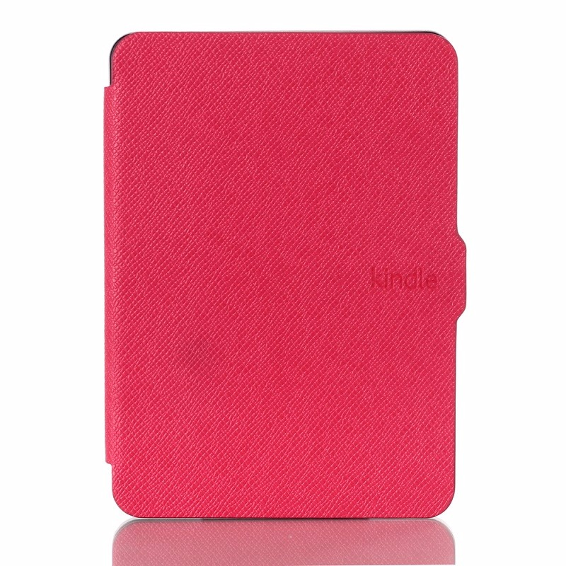 Rose pu leather ebook case for amazon kindle voyage