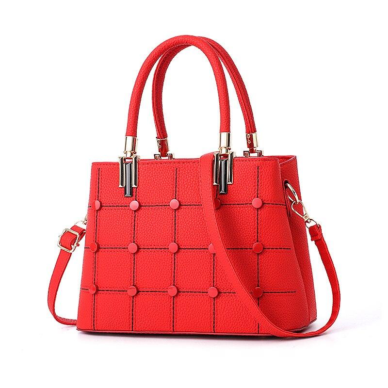 2018 Totes pour femmes Chic Style élégant bureau dames mode sacs à main solide couleur vin rouge vert kaki sacs à bandoulière