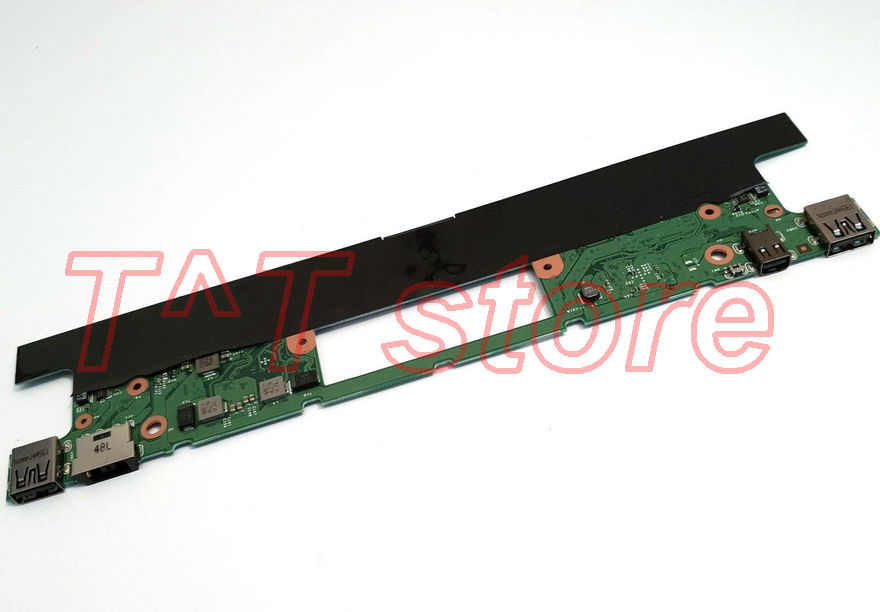 цена на original For Lenovo ThinkPad X1 Helix Laptop Motherboard DC Jack 04X0524 0C55440 test good free shipping
