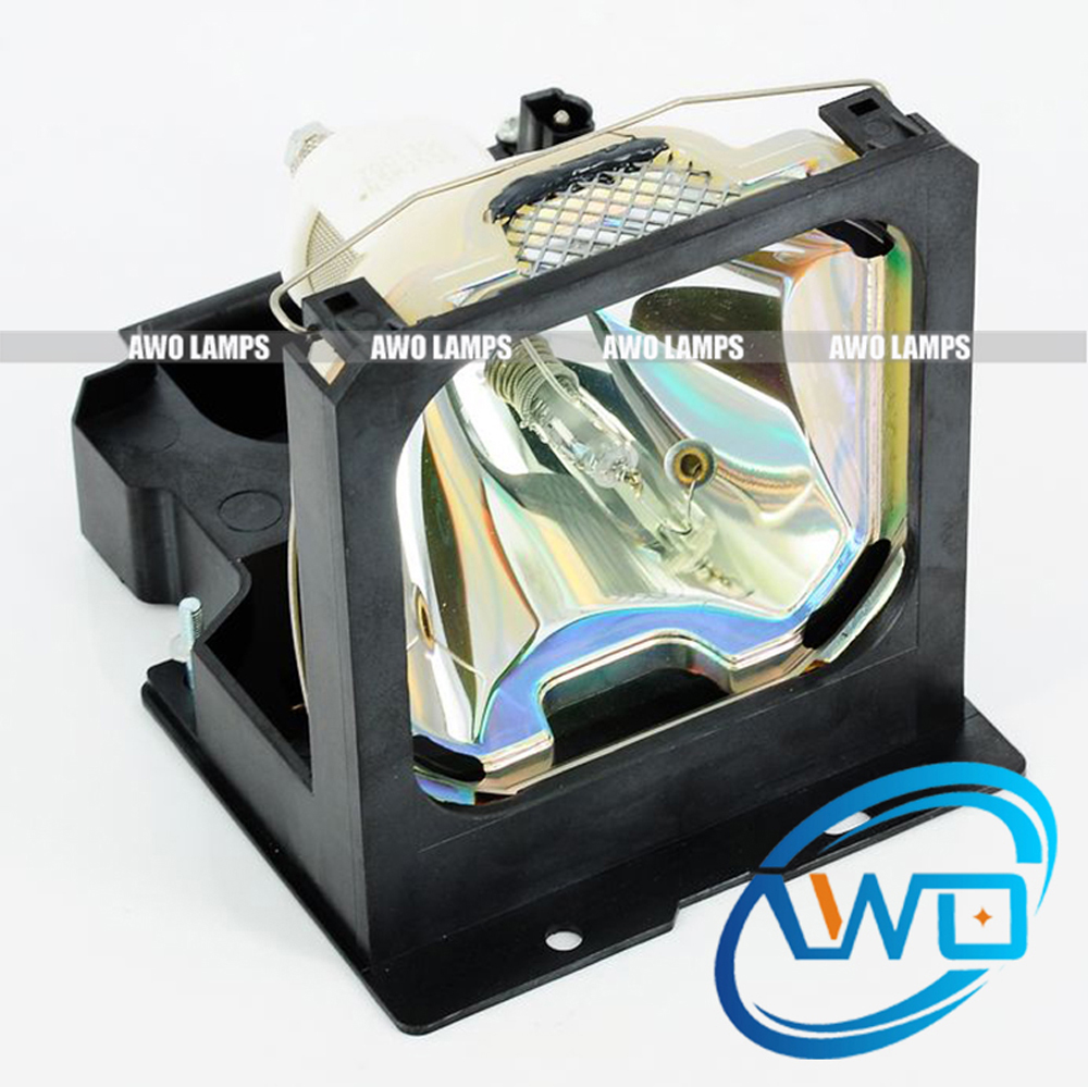 AWO Excellent High Quality Projector Lamp VLT-X400LP with Housing for MITSUBISHI LVP-X390/X390U/ X400B/X400BU/X400U vlt xd200lp replacement projector lamp with housing for mitsubishi lvp xd200u sd200u xd200u lvp sd200u
