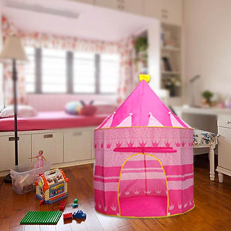 Child Outdoor Camping Tent Foldable Baby Kid Play House Balls Pool Toy Tent Carry Bag Outdoor Indoor Toys Gifts for Kids