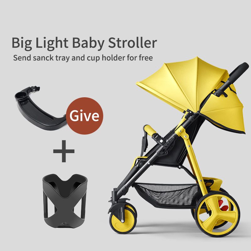 high land view quality travel baby stroller portable car umbrella hadnd baby summer folding stroller 5.9kg weight baby stroller