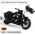 Мотоцикл Модели HD 2012 VRSCDX НОЧЬ RODSPECIAL 1999 FLHR ROAD KING 1:18 масштаб Сплав Тяжелых мотоциклов модель Коллекция Подарков