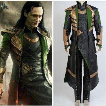 Thor The Dark World Loki Cosplay Costume Uniform Outfit Men Women Costume Halloween Carnival Costume Props Full Set Adult|Movie & TV costumes| - AliExpress