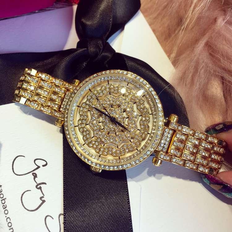 ФОТО Luxury Brand Women Diamond Quartz Watch Ladies Female Dress Wristwatch Rotatable Dial Watches Montre Femme Relojes Mujer OP001