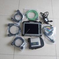 mb c4 star diagnosis sd connect with software 2019.05 mini ssd super installed xplore ix104 c5 i7 car diagnostic laptop