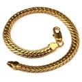 AGOOD 2017 hiphop gold bracelets & bangles for men jewelry unisex pulseira masculina pulseras mujer bileklik femme
