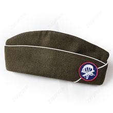 GARRISON CAP WW2 AIRBORNE PARATROOPER Military-Hat WWII WOOL IN Sizes-World US
