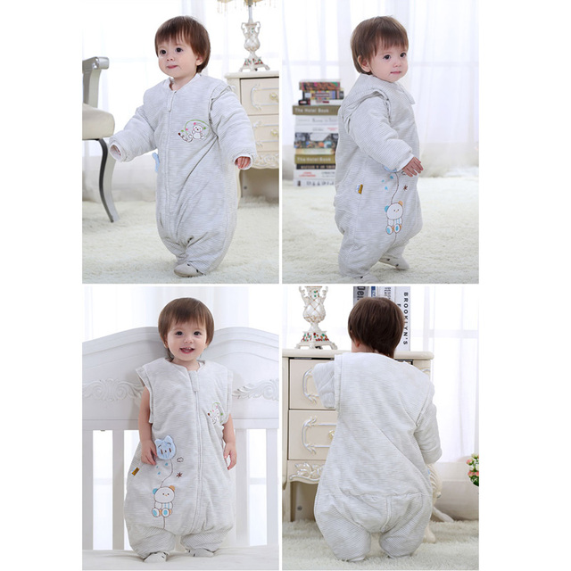kids sleeping bags cotton baby warm sleeping bag Cheap Siamese sleeping bag For Babies Baby Clothing Good Quality