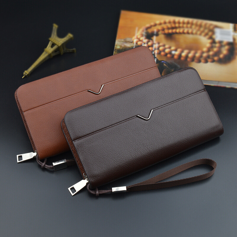 Vandream 2017 New Brand Men Wallets Long Women Purse Wallet Male Clutch Pu Leather Business Coin Wristlet Bag Black Brown Color 2016 famous brand new men business brown black clutch wallets bags male real leather high capacity long wallet purses handy bags