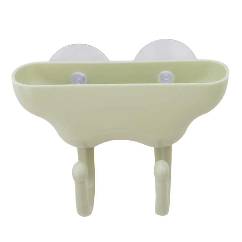 Gorąca sprzedaż kreatywny frajerem łazienka podwójny hak Sucker pcv wanna z ściany typu do przewozu mas bitumicznych na