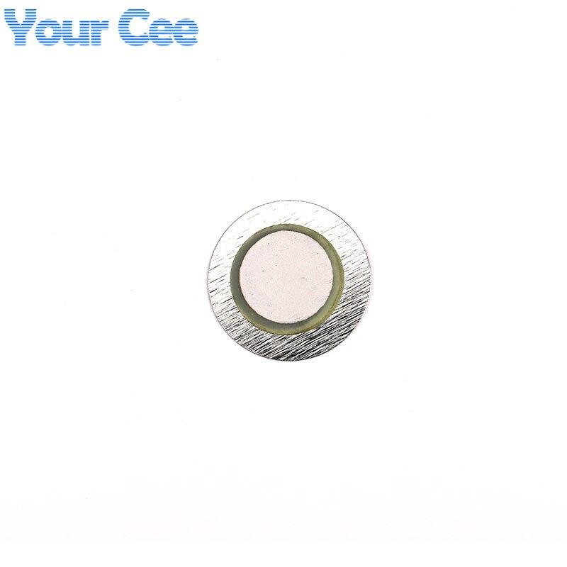 100 шт. 27 мм* 0,33 мм Железный пьезо диск для зуммер датчик давления динамик