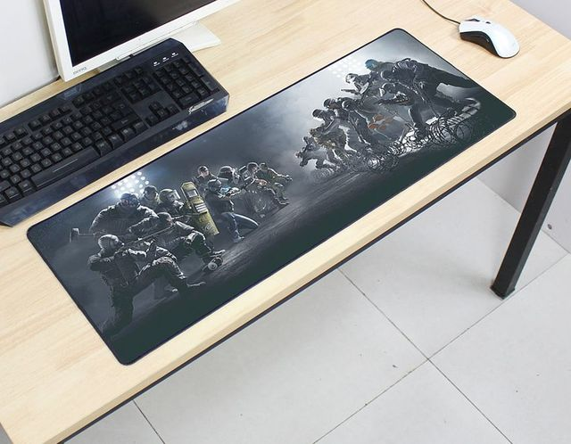 Rainbow Six Siege mousepad 800x300x2mm pad to mouse computer mouse pad best seller gaming padmouse gamer to keyboard mouse mats 1