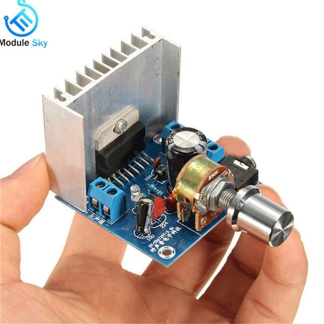 TDA7297 Version B Amplifier Board DC 9-15V 15W*2 Digital Audio Power Amplifier Module Stereo Dual Channel 15W + 15W Amplificador 2