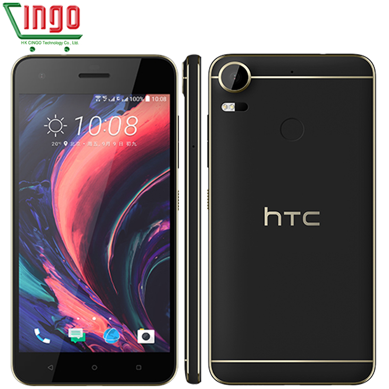"Original HTC Desire 10 Pro 4GB RAM 64GB ROM 5.5"" Octa Core LTE Dual Sim Phone Android OS Dual SIM 20MPrefurbished phone"