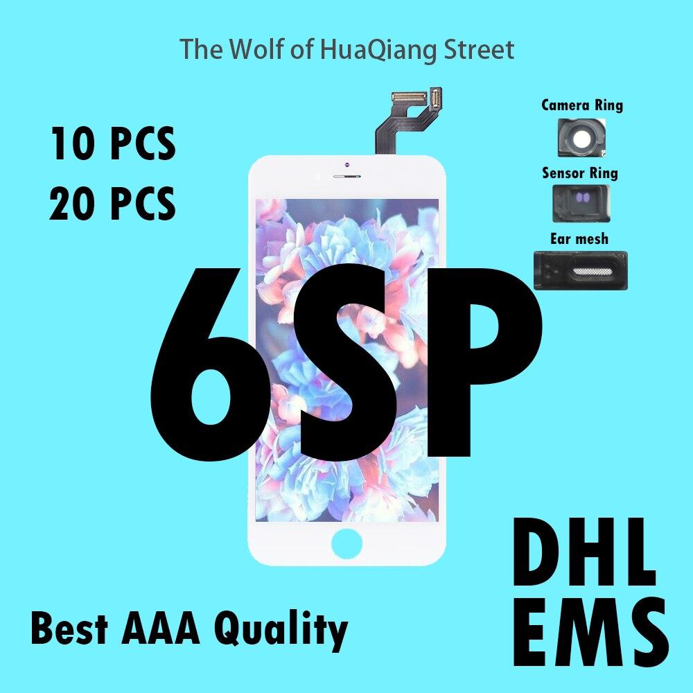 10 20 pcs Tianma Qualité AAAA LCD Pour iPhone 6SP 6 s plus LCD Assemblée D'affichage avec Écran Tactile de Remplacement digitizer