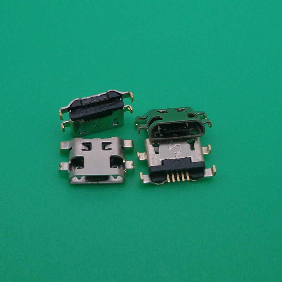 10 pièces pour Alcatel 6035R Idol S 4033 4033D POP C3 C7 7041D, connecteur de charge micro usb, prise prise dock