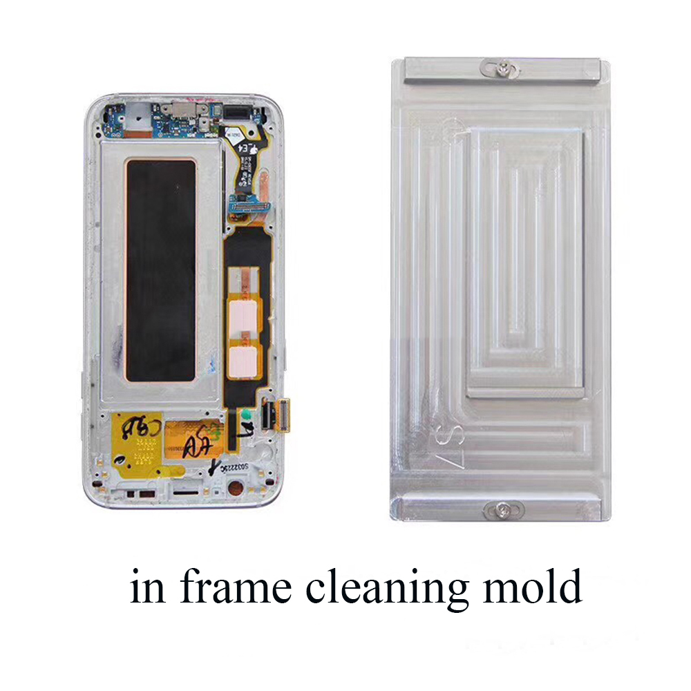 in Frame glue cleaning mold for S7 edge S8 S8 plus Note 8 LCD heating glue cleaning easy and efficient for mobile phone repair 03