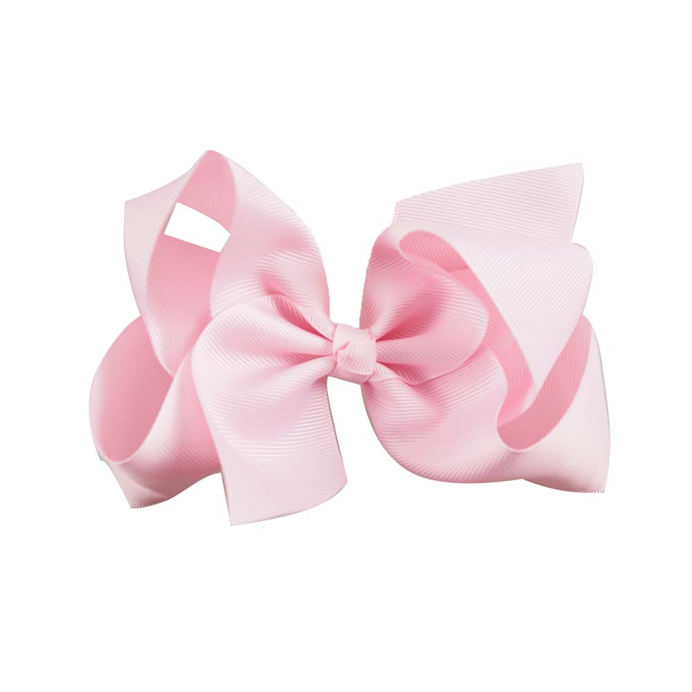 Children's Large Solid Color Hair Bow