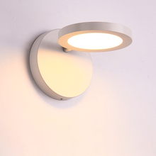 Creative personality led wall lamps bedroom bedside lamp corridor lights Simple modern staircase inddor wall lamp can be rotated
