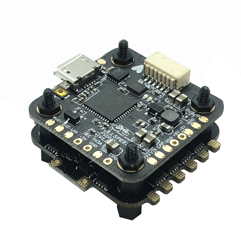 F411 Mini Micro F4 Betaflight OSD to Adjust PID BEC Flight Controller Tower with 4in1 28A / 35A ESC 2-4S DSHOT VS Flytower Drone цена