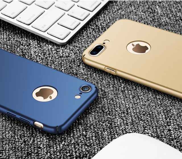 Rose Gold Simple Matte Hard Case For iPhone
