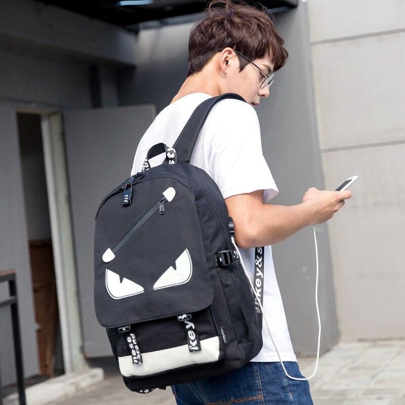 Carga USB Anti Roubo Mochila para Homens 15 polegada Laptop Mochilas Homens mochila de Viagem Da Moda Sacos de Escola Bagpack sac um dos mochila