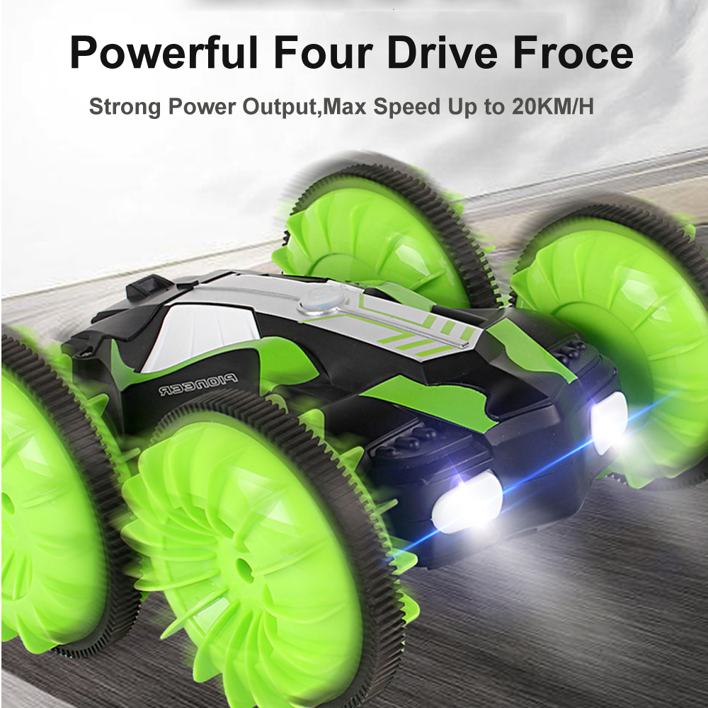 Image 3 - LH C013 2.4GHz Remote Control RC Car Waterproof Off Road Racing Climbing RC Car Amphibious 4WD Remote Control Toys RC Cars-in RC Cars from Toys & Hobbies