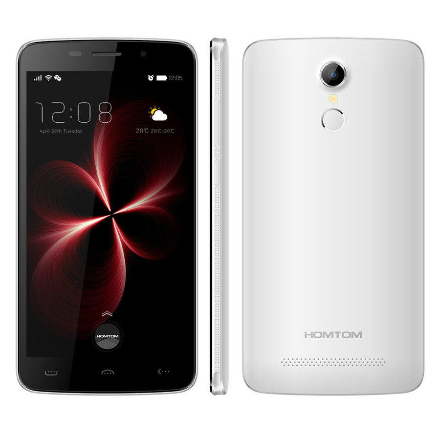 Цена за Оригинал HOMTOM HT17 Pro Мобильного Телефона MTK6737 Quad Core 2 Г RAM 16 Г ROM 5.5 Дюймов 1280*720 Android 6.0 8.0MP Камера Отпечатков Пальцев