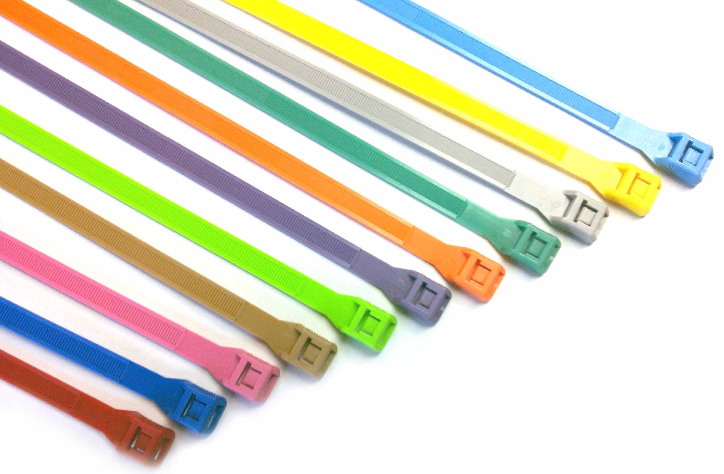 100 قطعة/المجموعة 3*100 مللي متر الذاتي قفل النايلون كابل العلاقات 12 اللون البلاستيك كابل البريدي التعادل سلك ربط التفاف الأشرطة السحابة هوك حلقة
