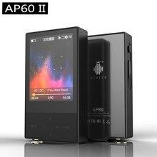 Hidizs ap60 II HiFi карман Bluetooth 4.0 apt-X DSD FLAC AAC APE MP3-плееры ap60ii + hidizs наушники ep-3 бесплатная
