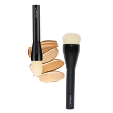 vela.yue Professional Foundation Brush Face Liquid Mineral Powder Cream Crease Base Sheer to Full Coverage Makeup Brush все цены
