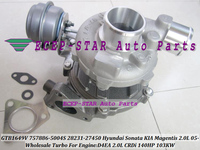 GTB1649V 757886-5004 s 757886 28231-27450 Turbo Turbo Voor HYUNDAI Sonata; Voor KIA Magentis; OPTIMA 2.0L CRDi 05-D4EA 140HP