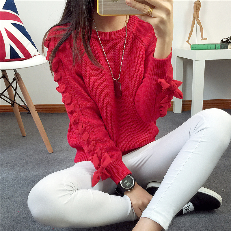 Thick Warm Winter Sweater Women 2017 Knitted Pullover Female Jumper Tricot Pullover Women's Winter Tops Pull Femme XY1111
