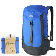AONIJIE Women/Men Outdoor Sport Bag 30L Foldable Waterproof Nylon Travel Backpack for Hiking Camping Climbing