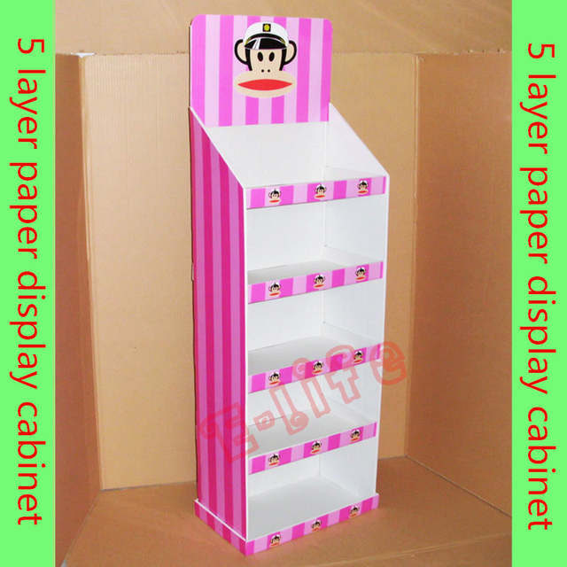 Internet Magazin Layer Paper Display Case Diy Folding Toy Display