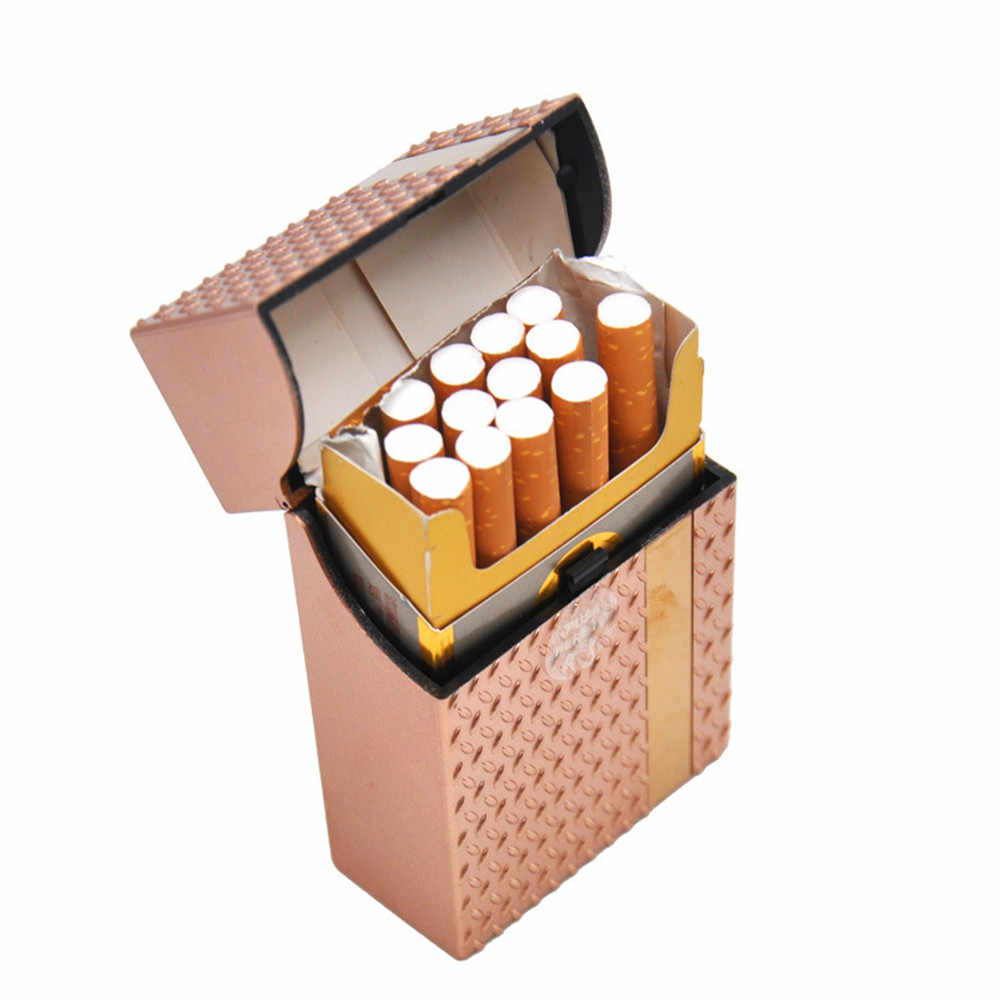 5 colors Portable Sugar Skull Plastic Cigarette Box Holder Tobacco Storage Hard Case Sleeve Pocket mini cigarette box Gift