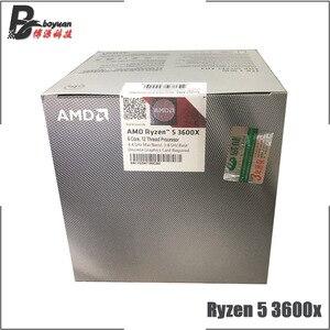 Image 3 - AMD Ryzen 5 3600X R5 3600X3.8 GHz Altı Çekirdekli Oniki Iplik CPU Işlemci 7NM 95 W l3 = 32 M 100 000000022 Soket AM4 yeni ve fan