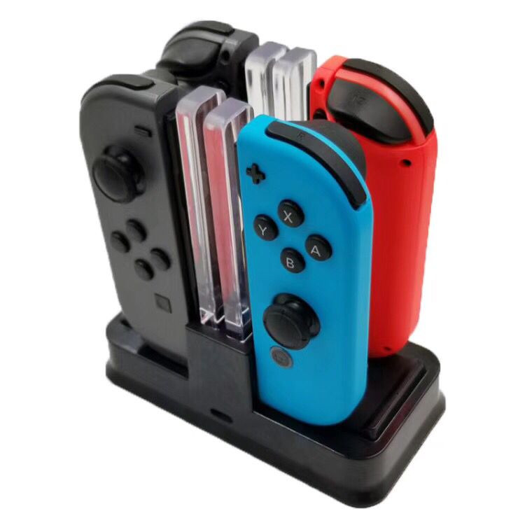 Купить с кэшбэком Nintend Swith Pro Controller Charger Stand and Nintend Switch Joycon Charging Dock Station With LED Light For Nintendos Switch