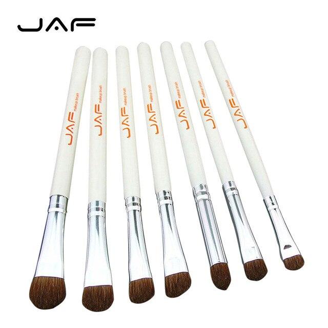 Las Fuerzas Armadas Jordanas herramienta de belleza 7 piezas, juego de brochas de maquillaje cepillo de sombra de ojos cosméticos kit de pincel, maquiagem q71024