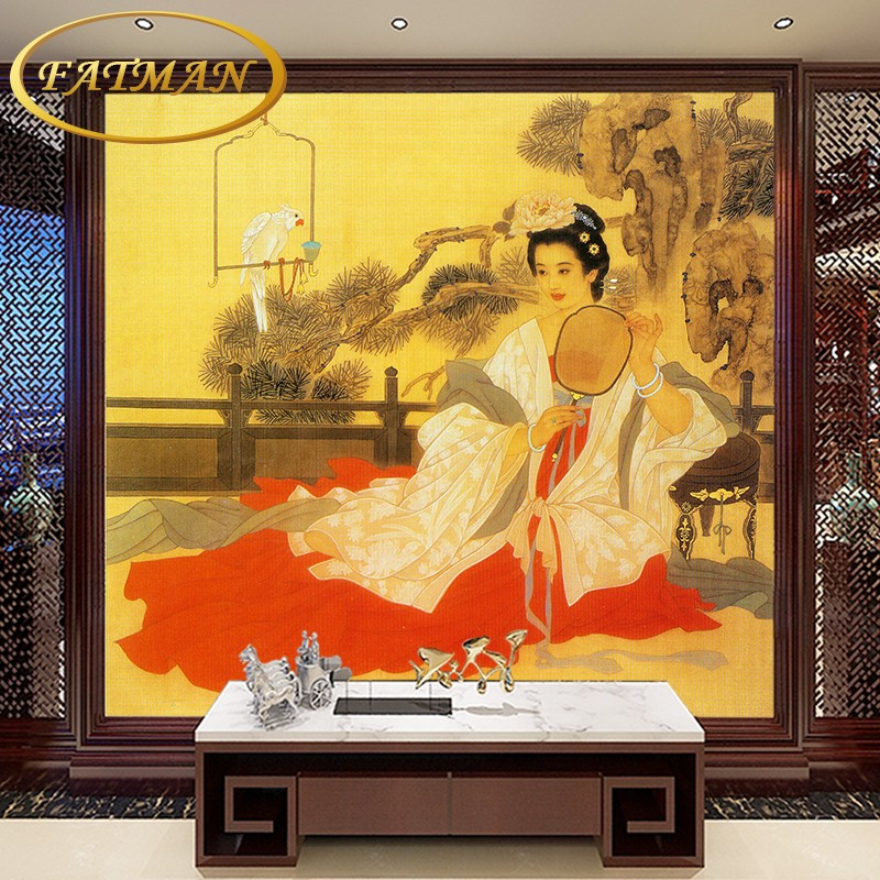 chinese restaurant wallpaper murals promotion-shop for promotional