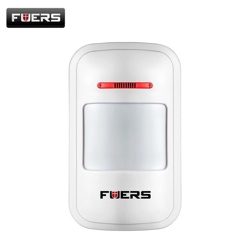 EV 1527 ENCODE 433MHz Wireless PIR Motion Sensor Alarm Detector for G2 Home GSM PSTN Security Alarm System no battery