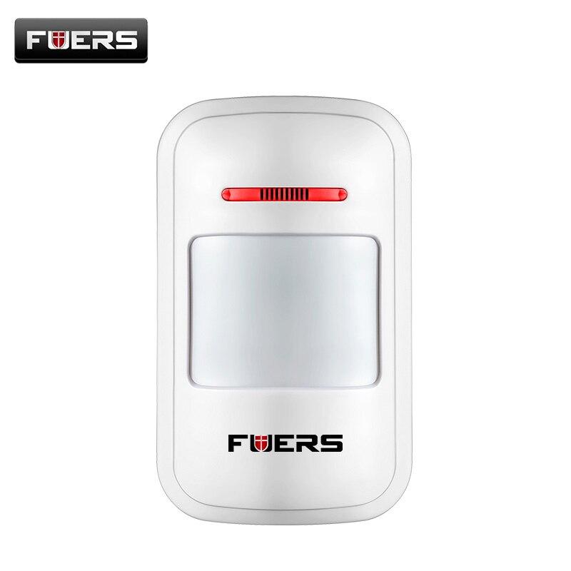 EV 1527 KODIEREN 433 MHz Drahtlose Pir-bewegungsmelder Sensor Alarm Detector für G2 Home GSM PSTN Alarmanlage keine batterie