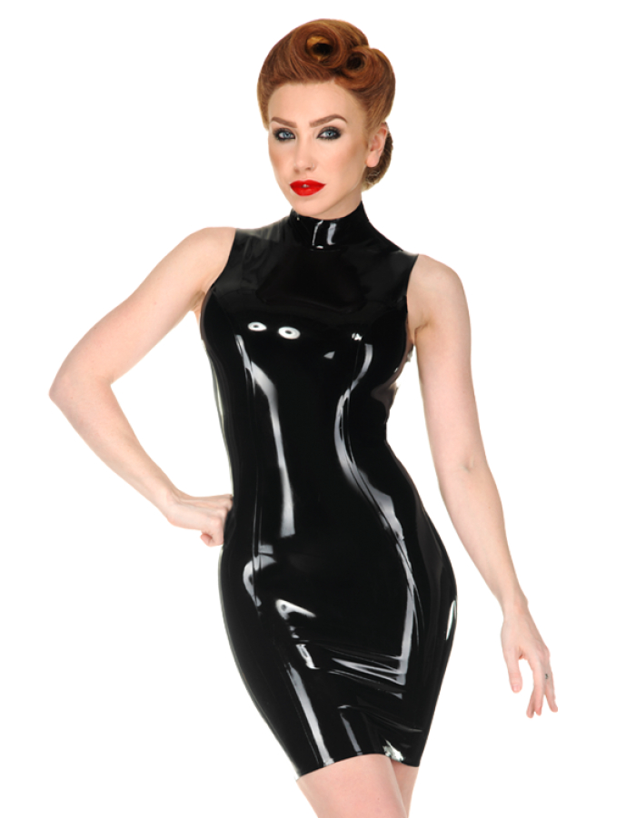 New Arrival Wet Look Rubber Latex Fancy Dress Latex Catwomen Skirts With Long Gloves&Tight Stockings