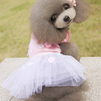 Pet Dogs Dresses Wedding Clothes Accessories Princess Pet Dog Tutu Summer Dress Skirt Pet Clothes Clothing