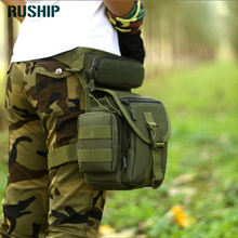 Waterproof Nylon Motorcycle Rider Drop Leg Bag Men Women Vintage Travel Hip Bum Fanny Bags Cell Phone Case Purse Belt Waist pack