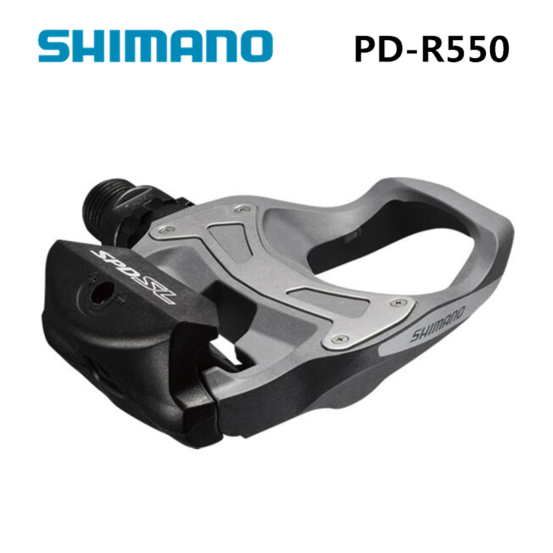 Shimano PD R550 SPD-SL Clipless Road Pedals Cycling Road self-locking pedal r550