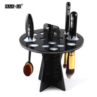 Pro Make Up Brush Set Dry Rack Drying Brushes Shelf Multifunction Stand Display Cosmetic Clean Tool