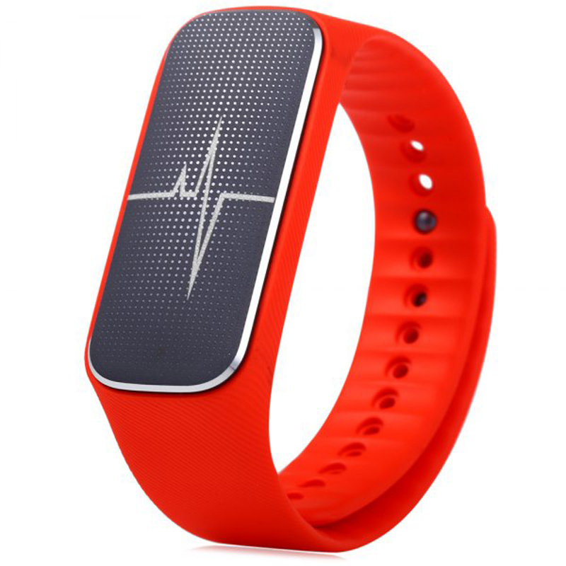 37 Degree L18 Smart Wristband Sports Tracker Bracelet Heart Rate Blood Pressure Mood Detecter Waterproof Smartband