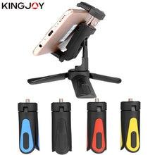 KINGJOY Officia KT-18 мини штатив для телефона стенд все видео камера держатель телефона Штатив для мобильного Гибкий штатив цифровой DSLR